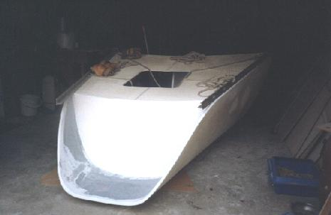 bygga båt glasfiber