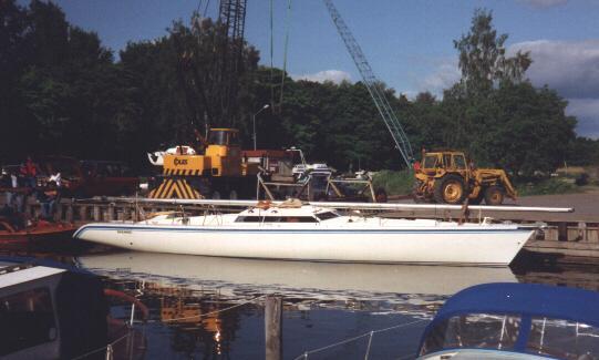 Building A Guyline 125 1984